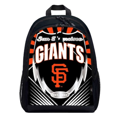 San Francisco Giants Backpack Lightning Style - 16.5x5.5x12 inches