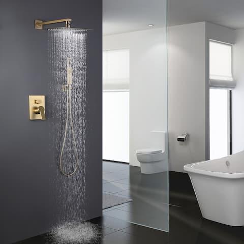 "10"" Rain Shower Head Pressure Balanced Shower System"