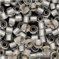 Toho Round Seed Beads 6/0 21F 'Silver Lined Frosted Crystal' 8 Gram Tube