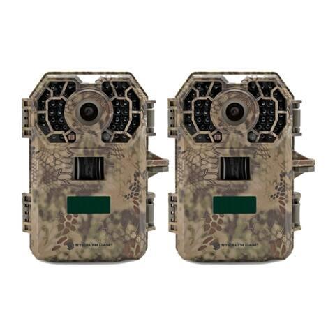 Stealth Cam 2020 G42NG 24MP Trail Camera 2-Pack Kit, Kryptek Camo