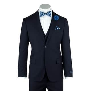 Zegna Ermenegildo Cloth Superfine Wool Navy Blue Suit & Vest By Canaletto Menswear https://ak1.ostkcdn.com/images/products/is/images/direct/6426ca668b96bf5a4877d0515b997ce59233608e/Zegna-Ermenegildo-Cloth-Superfine-Wool-Navy-Blue-Suit-%26-Vest-By-Canaletto-Menswear.jpg?impolicy=medium