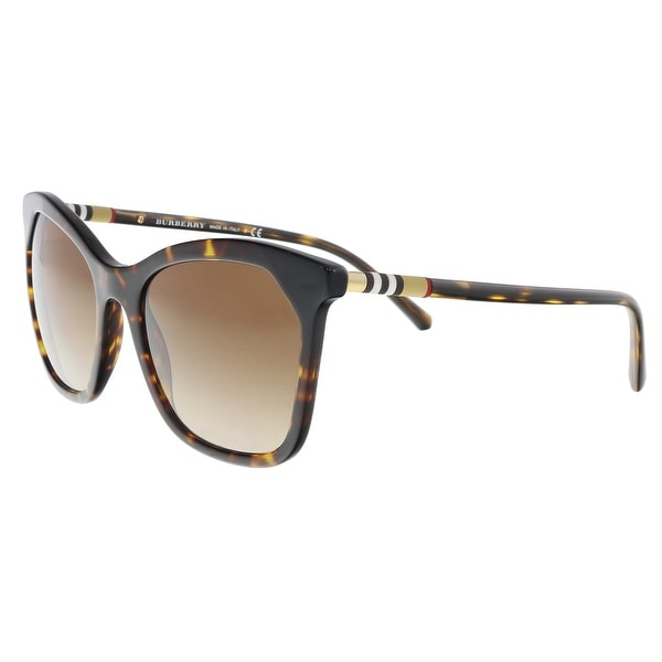 f442510b01b1 Burberry BE4263 370813 Dark Havana/ Black Butterfly Sunglasses - 54-19-140