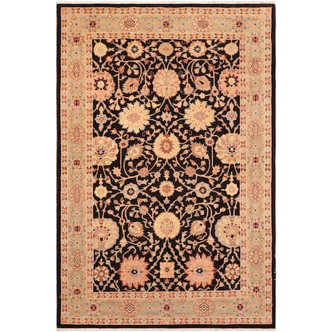 """Bohemien Ziegler Julee Hand Knotted Area Rug -5'11"""" x 8'10"""" - 5 ft. 11 in. X 8 ft. 10 in."""