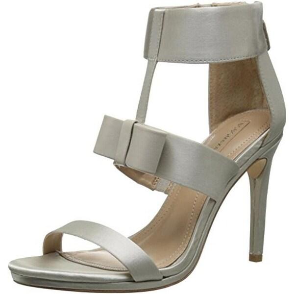 BCBG Max Azria Womens Gale Dress Sandals Satin Bow