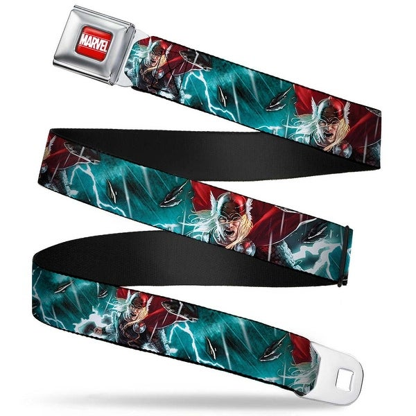 Marvel Universe Marvel Full Color Red White Thor Actions Poses4 Lightning Seatbelt Belt