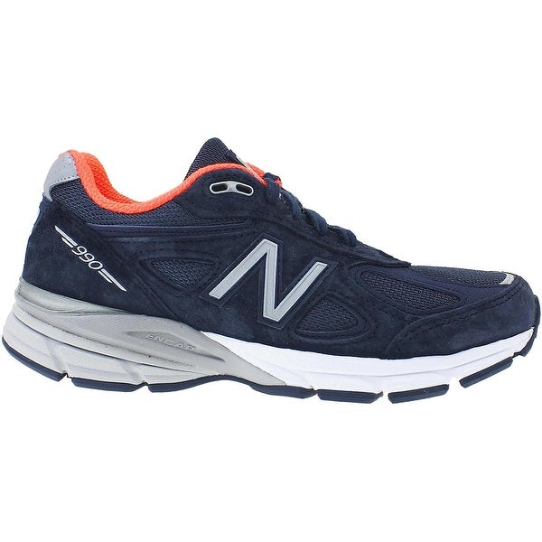 New Balance Womens W990 Low Top Lace Up Running Sneaker