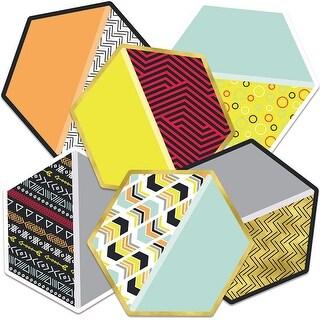 Hexagons Cutout Asst Gr Pk-5