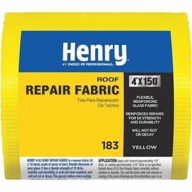 "Henry 4""X150'Yel Glass Fabric"