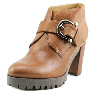 Eric Michael Lucy Round Toe Leather Bootie