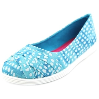 Blowfish Glo Round Toe Canvas Flats