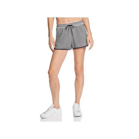 Splendid Womens Casual Shorts Crochet Stripe