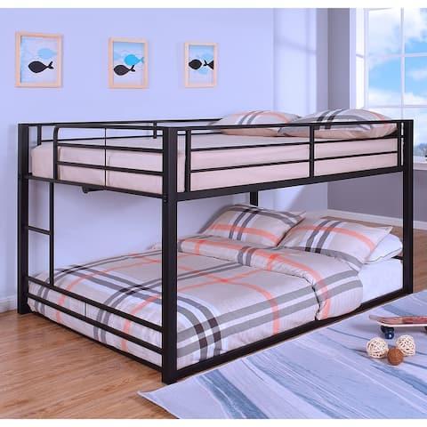 Furniture of America Drella Transitional Metal Bunk Bed