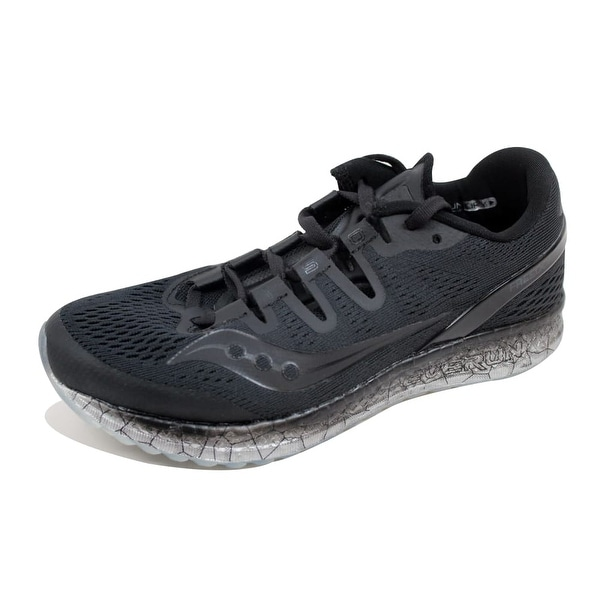 c5df7da3bcee0 Shop Saucony Freedom Iso Black S10355-1 Women s - Free Shipping ...