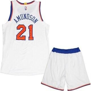 Lou Amundson 20142015 Game Used White Uniform Set 2XL