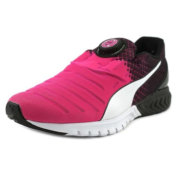 32799402d9893a Shop Puma Ignite Dual Disc Men Round Toe Synthetic Blue Running Shoe ...