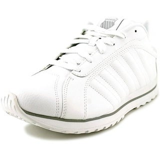 K-Swiss Verstad III S Men Round Toe Leather White Sneakers
