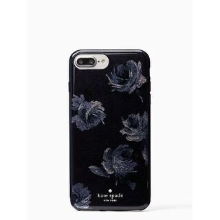 Kate Spade New York Night Rose Glitter iPhone 8 Plus/iPhone 7 Plus Case, Navy