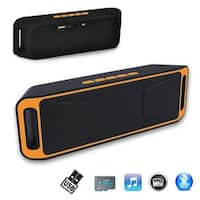 Indigi® SUPER BASS Bluetooth Wireless Speaker Portable For Smartphone Tablet PC Laptop
