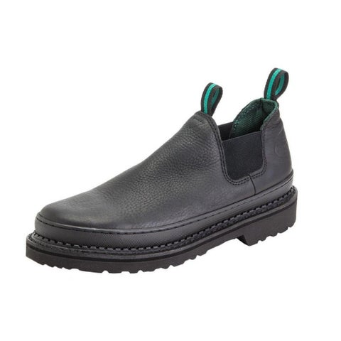 Georgia Boot Work Mens Giant Romeo Leather Goodyear Black
