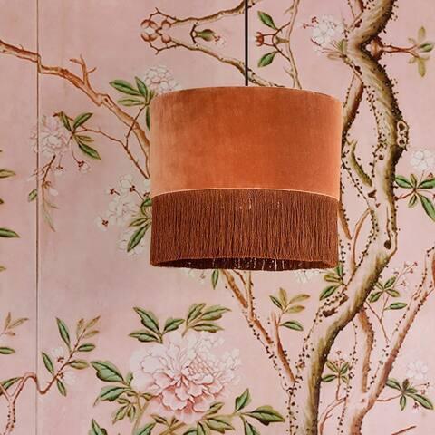 Atolla Brick Tassel Pendant