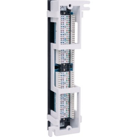 Intellinet 162470 Cat5e Wall-Mount Patch Panel 12-Port Utp