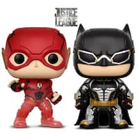 Funko Pop! Movies DC Justice League - Tactical Gear Batman and The Flash Summer Convention 2018 Exclusive (2 Items)