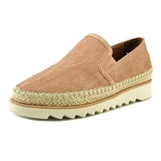 Donald J Pliner Millie-A5 Slip-On Sneakers Blush Vintage Cut Leather