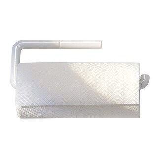 "InterDesign 35001 Paper Towel Holder, 13"" x 5"", White"