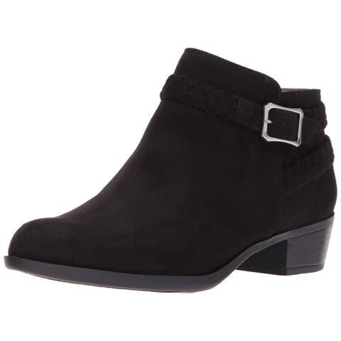 LifeStride Womens Adriana Closed Toe Ankle Fashion Boots