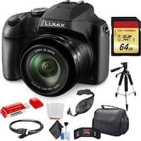Panasonic Lumix DC-FZ80 Digital Camera with Pro Accessory Kit