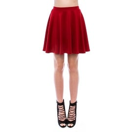 Simply Ravishing Women's Basic Stretch Flared Skater Mini Skirt|https://ak1.ostkcdn.com/images/products/is/images/direct/6438d89b311c72804ddee0b67352fa21e56bb278/Simply-Ravishing-Women%27s-Basic-Stretch-Flared-Skater-Mini-Skirt.jpg?_ostk_perf_=percv&impolicy=medium