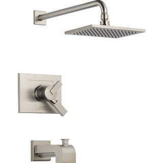 Delta T17453  Vero Monitor 17 Series Dual Function Pressure Balanced Tub and Shower Trim Package with Touch Clean Shower Head