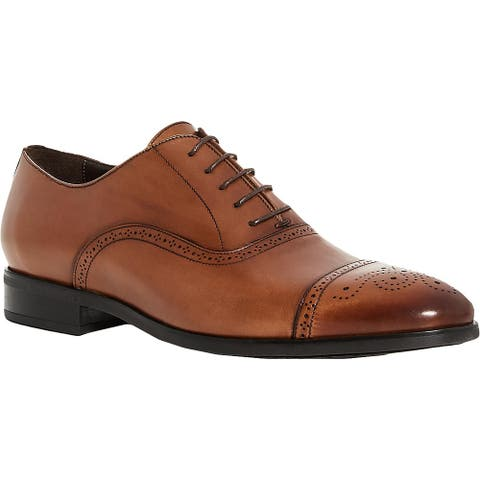 To Boot New York Mens 346M Dress Shoes Leather Toe Cap - Cuoio Ant