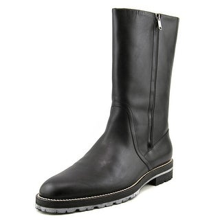 Viktor & Rolf S48WU0007 Round Toe Leather Boot