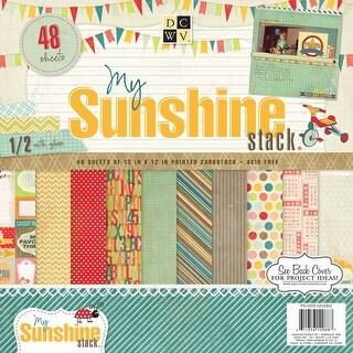 "Dcwv Paper Stack 12""X12"" 48/Pkg-My Sunshine, 24 Designs/2 Each"