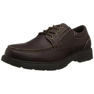 Dr. Scholl's Mens Torch Derby Shoes Leather Gel Comfort - 13 medium (d)
