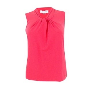Calvin Klein Women's Petite Size Knot Neck Camisole - Watermelon (3 options available)