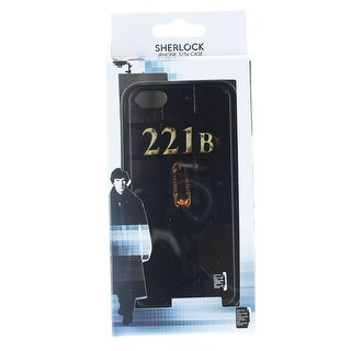 Sherlock Holmes iPhone 5 Hard Snap Case 221B