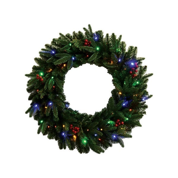 Celebrations FCFFWR-30-BOMU Christmas Fresh Cut Wreath, 30""
