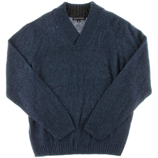 Tricots St. Raphael Mens Casual Marled Pullover Sweater