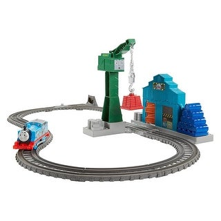 Fisher Price Thomas and Friends TrackMaster Demolition at the Docks Set