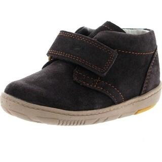 Clarks Boys Maxi Brave Infant First Walker Shoes