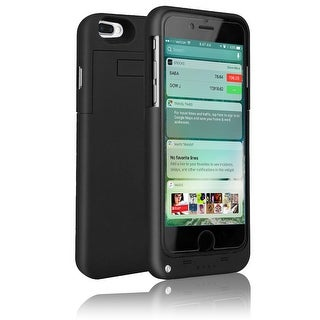 Indigi® Ultra Slim iPhone 7 Plus Rechargeable JuicePack Battery Case - Black - 4000mAh