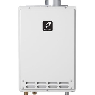 Takagi T-K4-IN-NG 8.0 GPM Natural Gas Indoor Tankless Water Heater from the Tankless Collection