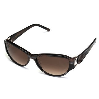Boucheron Unisex Jeweled Frame Sunglasses Brown - Small