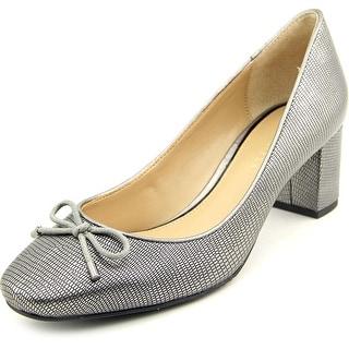 Judith Ripka Helen Women Round Toe Leather Heels