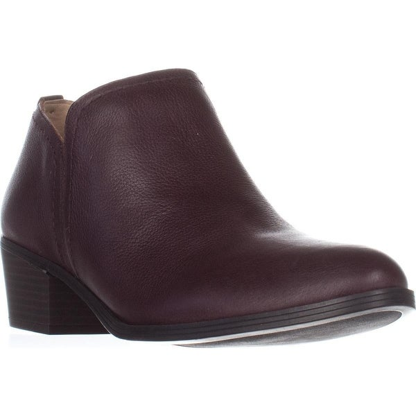 naturalizer Zarie Casual Ankle Boots, Aubergine