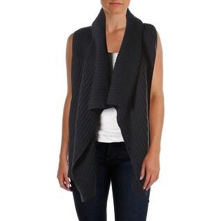 Joie Womens Cardigan Sweater Sleeveless Open Front