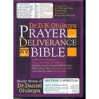 Mountain Of Fire & Miracles  V Olukoya Prayer & Deliverance Bible