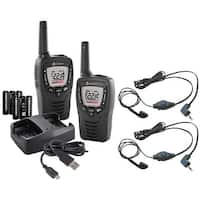 Cobra CXT395 2-Way Radio Weather Alert, 22 channels/ 10 NOAA Weather Resistant Manufacturer Refurbished